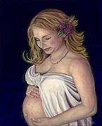 Commision Art - Maternal Love by Michelle Krahenbuhl