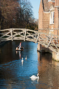 Mathematical Bridge Print by Andrew  Michael
