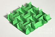 Surface Design Prints - Mathematical Origami Print by Ted Kinsman