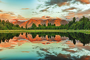 Nature Scene Metal Prints - Matheson Lake Metal Print by MotHaiBaPhoto Prints