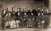 Mathew Photos - Mathew B. Brady 1823-1896, Front Row by Everett