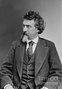 Self-portrait Photo Prints - Mathew Brady, Father Of Photojournalism Print by Photo Researchers