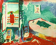 Early Painting Prints - Matisse - Interior Collioure Print by Granger