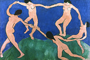 Aod Photo Framed Prints - Matisse: Dance, 1909 Framed Print by Granger