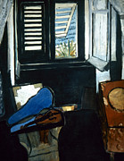 1917 Prints - Matisse Interior 1917-18 Print by Granger