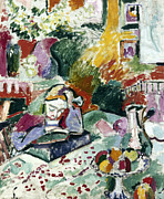 Turn Of The Century Art - Matisse: La Lecture, 1905 by Granger
