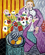 Purple Robe Metal Prints - Matisse: Robe, 1937 Metal Print by Granger