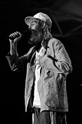 Bands Prints - Matisyahu live in concert 1 Print by The  Vault