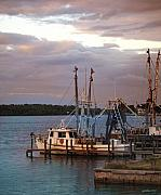 Shrimp Boat Prints - Matlacha Florida Sunset Print by Joseph G Holland