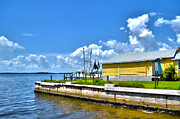 Forida Prints - Matlacha Florida waterway Print by Timothy Lowry