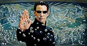 Keanu Prints - Matrix Print by Selahsess Trade