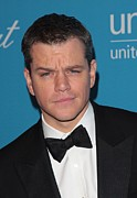 Adam Orchon Framed Prints - Matt Damon In Attendance For 2009 Framed Print by Everett