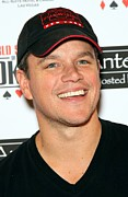 Fundraiser Art - Matt Damon In Attendance For 2010 Ante by Everett