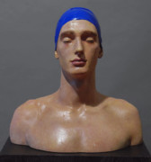 Athletes Sculptures - Matteo by Carole Feuerman