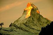 Matterhorn Prints - Matterhorn in Switzerland Print by Monique Wegmueller