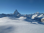 Cold Temperature Art - Matterhorn, Switzerland by Thepurpledoor