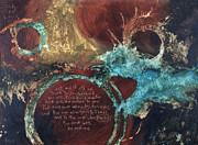 Christian Mixed Media Originals - Matthew 7 by Michel  Keck