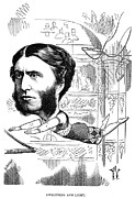 Sideburns Prints - Matthew Arnold (1822-1888) Print by Granger