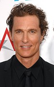 Matthew Framed Prints - Matthew Mcconaughey At Arrivals Framed Print by Everett