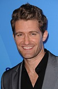 Wollman Rink In Central Park Posters - Matthew Morrison At Arrivals For Fox Poster by Everett