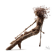 Tree Art Sculpture Prints - Matutinal Print by Adam Long