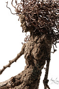 Tree Art Sculpture Prints - Matutinal... detail Print by Adam Long