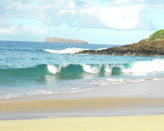 Ocean Photography Photos - Maui Hawaii Beach by Rebecca Margraf