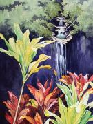 Vegetation Paintings - Maui Morning by Mary Lucas Faustine - Printscapes