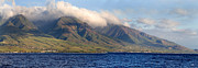 Panoramic Ocean Prints - Maui Pano Print by Scott Pellegrin