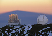 Telescope Dome Framed Prints - Mauna Kea Observatory, Hawaii Framed Print by G. Brad Lewis