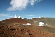Mauna Kea Photo Metal Prints - Mauna Kea Telescopes Metal Print by Magrath Photography