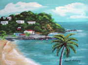 Maunabo Puerto Rico Print by Luis F Rodriguez
