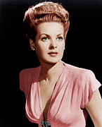 Maureen Prints - Maureen Ohara, Ca. 1946 Print by Everett