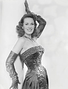 Maureen Prints - Maureen Ohara, Circa 1954 Print by Everett