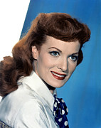 Maureen Prints - Maureen Ohara Print by Everett