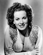 Colbw Prints - Maureen Ohara, Rko, 1940 Print by Everett