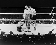 Boxing  Prints - Max Baer 1909-1959, Knocked Print by Everett