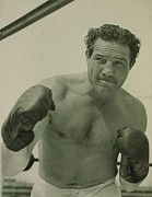 Boxer Framed Prints - Max Baer 1909-1959, One-time Framed Print by Everett