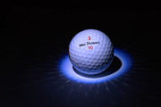 Golf Ball Posters - Max Distance Poster by Steven Richardson