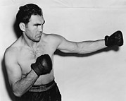 Boxer Photo Framed Prints - Max Schmeling 1905-2005 Before His 1938 Framed Print by Everett