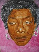 Novelist Paintings - Maya Angelou by B Jaxon