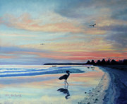Tropical Pastels - Mayan Morning by Lorraine McFarland