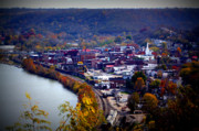 Birdseye Photo Posters - Maysville Kentucky Poster by Susie Weaver