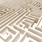 Maze Art - Maze by Stefano Senise
