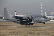 On The Runway Photos - Mc-130h Combat Talon Ii Of The U.s. Air by Timm Ziegenthaler