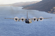 Front View Art - Mc-130h Combat Talon Ii Over Loch Ness by Gert Kromhout