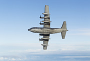 Mid-air Prints - Mc-130p Combat Shadow Print by Gert Kromhout
