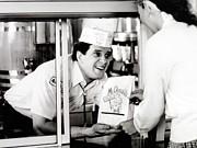 Mcdonalds Restaurant Crew Member Print by Everett