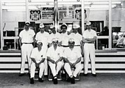 Uniforms Metal Prints - Mcdonalds Restaurant Original Crew Metal Print by Everett