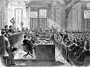 Trial Art - McFARLAND TRIAL, 1870 by Granger